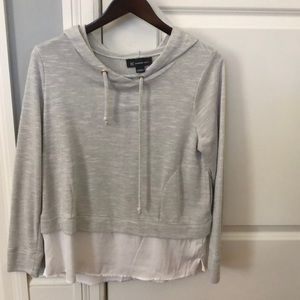 INC Gray  sweatshirt size medium.